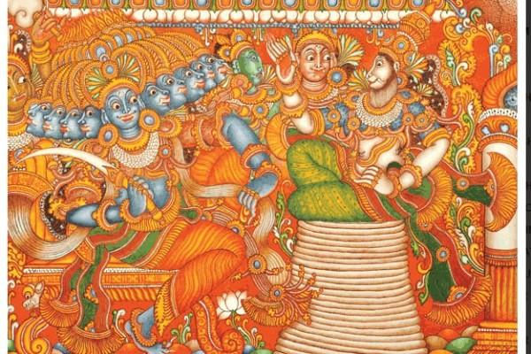 Mural Illustration by Kamaladevi S Nair
